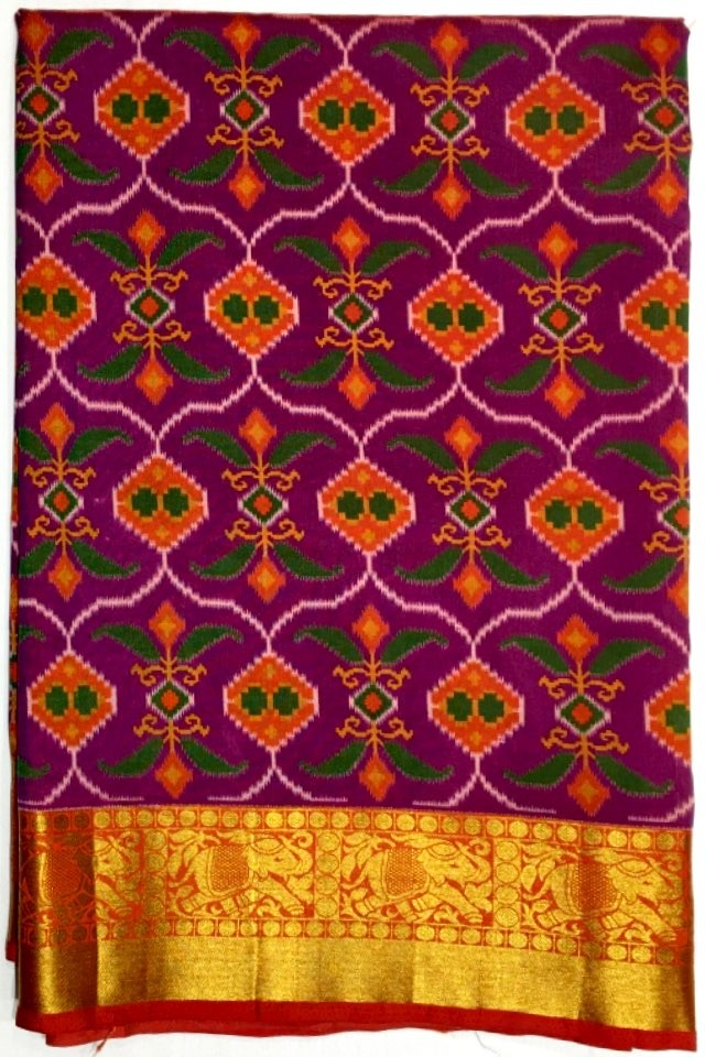 Art Silk Patola Saree