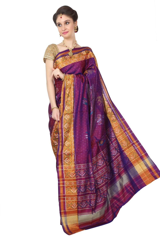 Rajkot Patola Pure Silk Saree