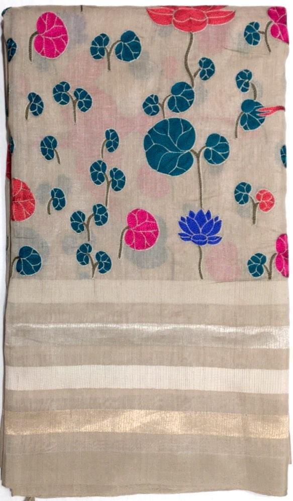 Banarasi Tussar Pure Silk Saree