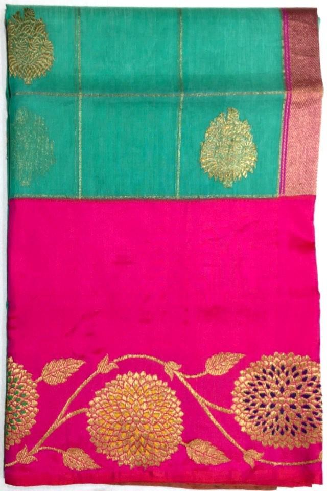 Banarasi Kora Pure Silk Saree