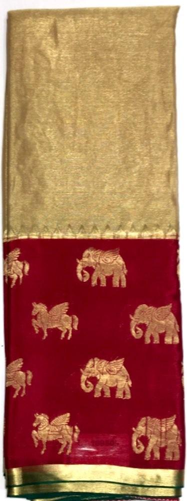 Mysore Crepe & Tussar Silk