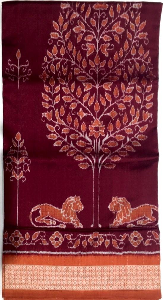 Orissa Pure Silk Patola Saree