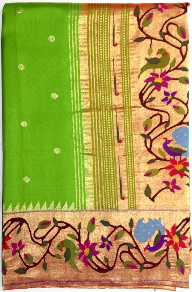 Paithani Pure Silk Saree