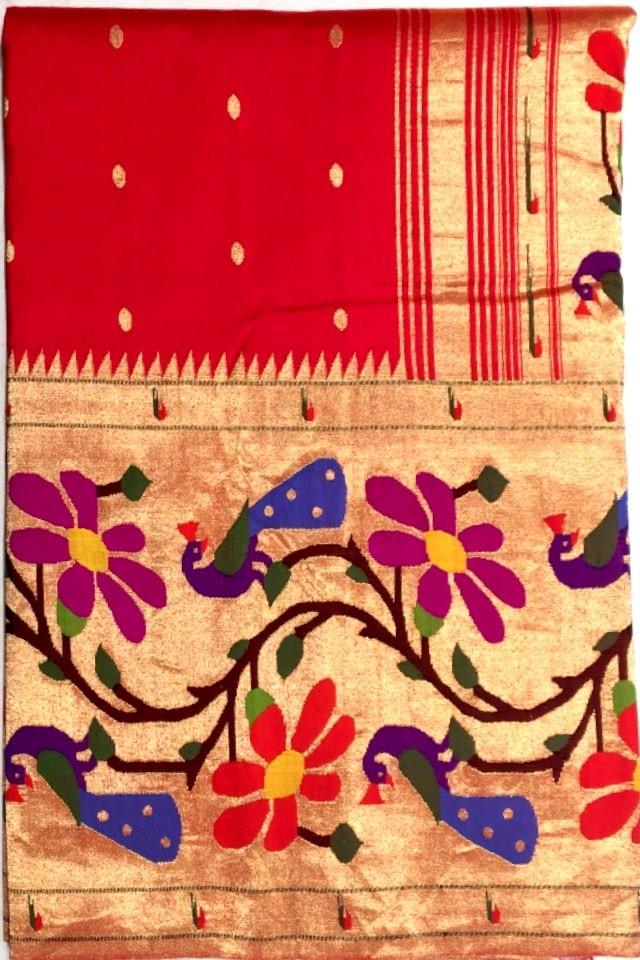 Paithani Pure Silk Saree