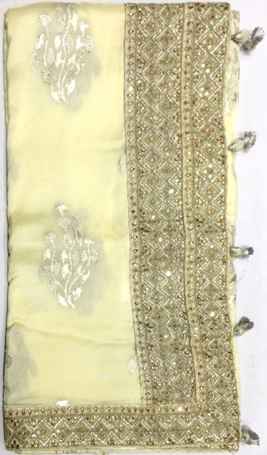 Pure Georgette Saree