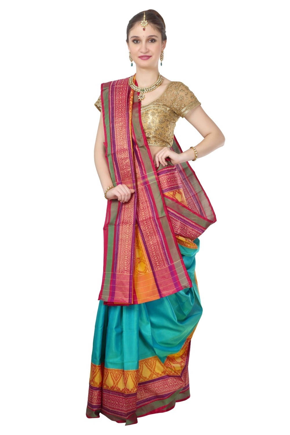 Rajkot Pure Silk Patola Saree