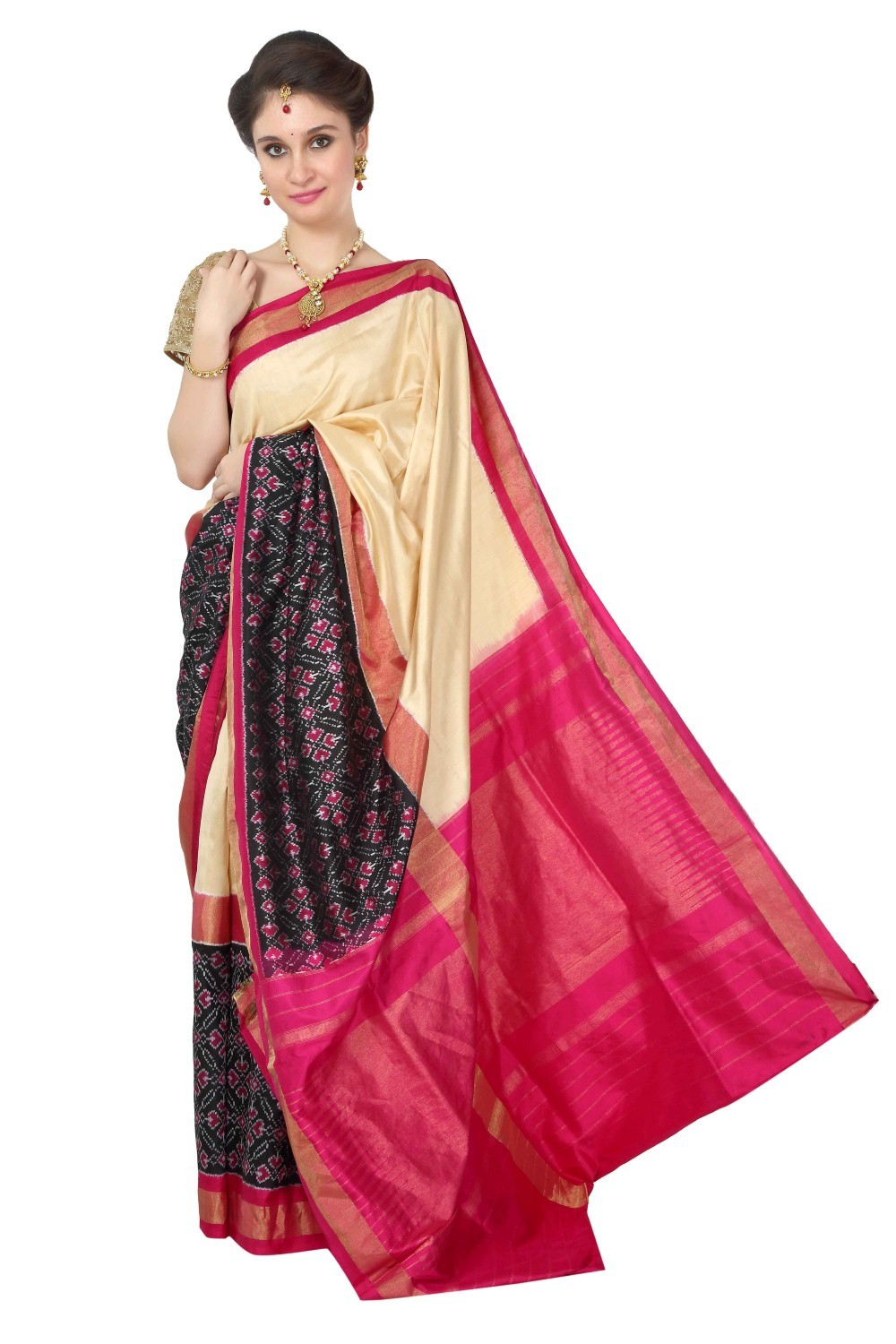 Pochampalli Pure Silk Saree