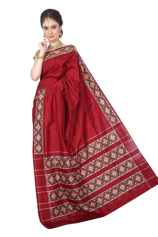 Pochampalli Pure Patola Silk Saree