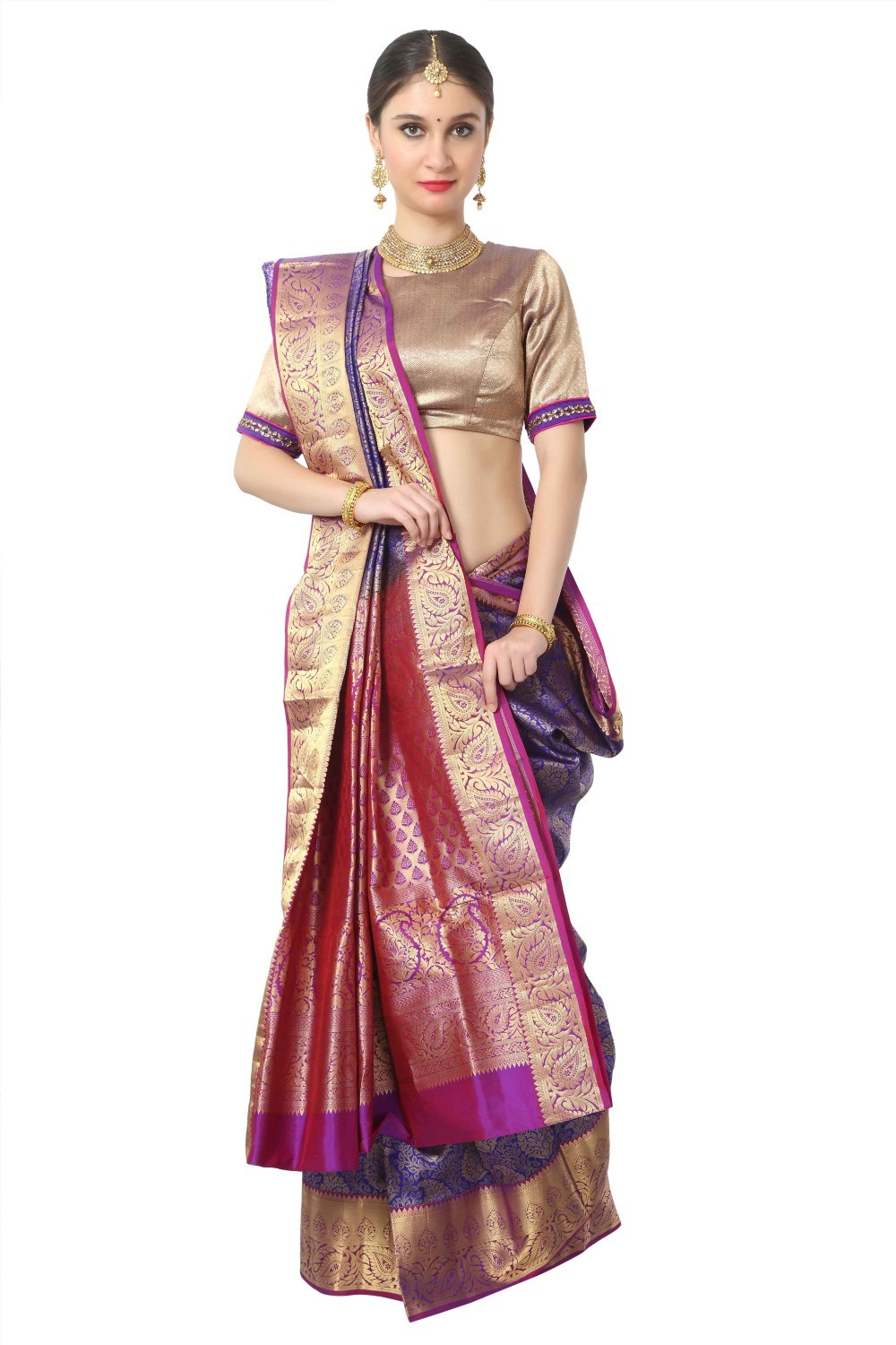 South Pure Silk Saree